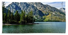 Jenny Lake Bath Towel by Greg Norrell