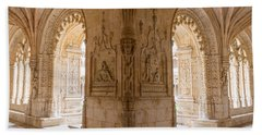 Jeronimos Monastery, Belem - Lisbon Bath Towel