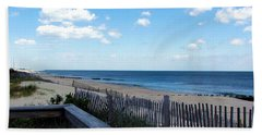 Jersey Shore Hand Towel by Judi Saunders