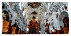 Jesuit Church Of Lucerne Bath Towel