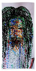 Jesus Lion Of Judah Bath Towel by Gloria Ssali