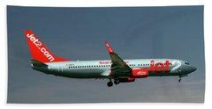Jet2 Boeing 737-8z9 Bath Towel