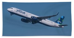 jetBlue Airbus A321 Bath Towel