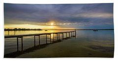 Jetty Four Bayside Sunset Hand Towel