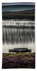 Jetty, Loch Na Maracha, Isle Of Harris Bath Towel