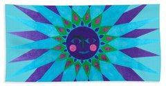 Jeweled Sun Hand Towel