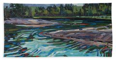 Jim Afternoon Rapids Hand Towel