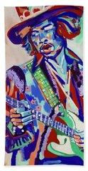 Jimi Hendrix Hand Towel