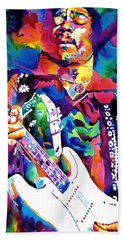 Rock Jimi Hendrix Music Bath Towels