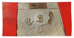 Jimmie Johnson Hand Towel by Paul Mashburn