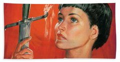 Joan Of Arc Bath Towel