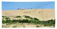 Jockey's Ridge State Park - Hang Gliding Bath Towel