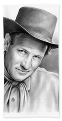 Joel Mccrea Bath Towel