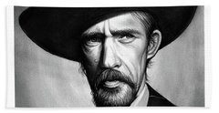 John Carradine Bath Towel