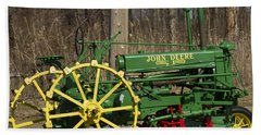 John Deer Tractor Bath Towel