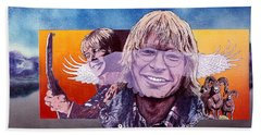 John Denver Hand Towel