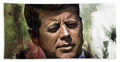 John F. Kennedy 01 Bath Towel