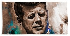 John F. Kennedy 02 Bath Towel