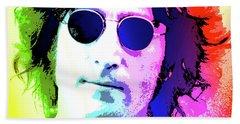 John Lennon - Nyc Hand Towel
