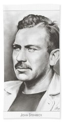 John Steinbeck Hand Towel