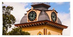 John W. Hargis Hall Clock Tower Bath Towel