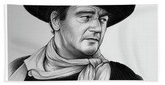 John Wayne 29jul17 Hand Towel