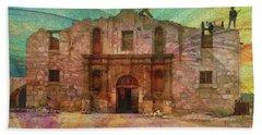 John Wayne's Alamo Hand Towel
