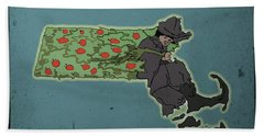 Johnny Appleseed Hand Towel
