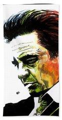 Johnny Cash Hand Towel