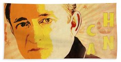 Johnny Cash Poster  Hand Towel