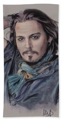 Johnny Depp Hand Towel