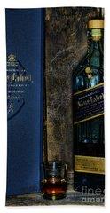 Johnny Walker Blue Label Whisky  Bath Towel