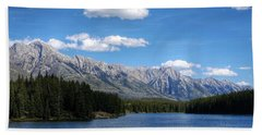 Johnson Lake, Ab  Bath Towel