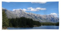 Johnson Lake, Alberta Bath Towel