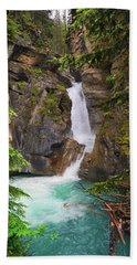Johnston Canyon - Lower Waterfall Hand Towel