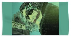 Joker Hand Towel by Scott Murphy