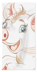 Jolly Miss Piggy Bath Towel