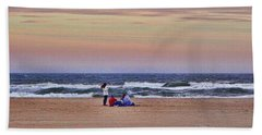 Jones Beach In January Hand Towel