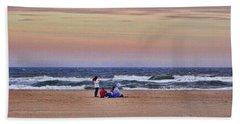 Jones Beach In January Bath Towel
