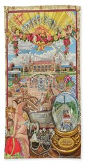 Jones Beach Love Story Towel Version Bath Towel