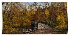 Jordan Park Bridge Bath Towel by Judy Johnson