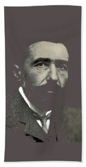 Joseph Conrad George Charles Beresford Photo 1904-2015 Bath Towel