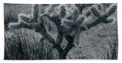 Joshua Tree Cactus Bath Towel