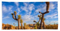 Joshua Tree Dawn Bath Towel