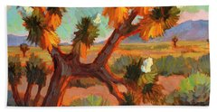 Joshua Tree Hand Towel by Diane McClary