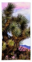 Joshua Tree Sunset Bath Towel