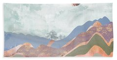 Journey To The Clouds Bath Towel