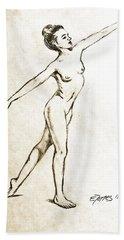 Joy Hand Towel by Edgar Torres