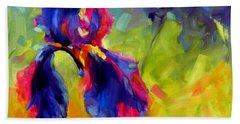 Hand Towel featuring the painting Joy In The Morning by Chris Brandley