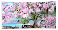 Joy Of Spring. For Sale Art Prints And Cards Bath Towel
